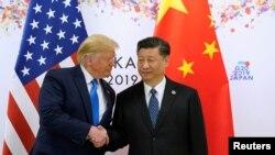 美国总统特朗普与中国国家主席习近平6月29日上午在日本大阪的G20峰会期间会晤。