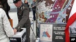 昔日柏林墙今日旅游点