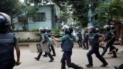 Bangladesh မွာေက်ာင္းသားဆႏၵျပမႈ မ်က္ယုိရည္ယုိဗုံးသုံးႏွိမ္နင္း