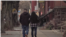 Undocumented immigrant Raul, who has been in the United States for 10 years, and his wife walk down a street in Harrisburg, Pennsylvania. (Photo: M. Kornely / VOA)