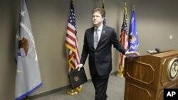 Федеральный прокурор в Юте Дэвид Барлоу