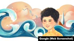 Cố thi sĩ Xuân Quỳnh được Google vinh danh hồi tháng 10.