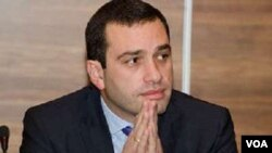 Gürcüstanın müdafiə naziri İrakli Alasaniya
