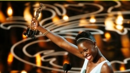 Lupita Nyong'o, best supporting actress winner for her role in