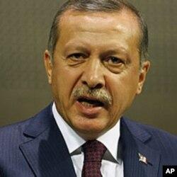 ترک وزیر اعظم رجب طیب اردوان