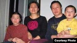 高智晟与家人(图片来源 高智晟)