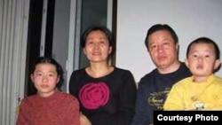 中国著名维权律师高智晟与家人(图片来源 高智晟)