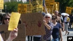 Hasil survei menunjukkan jumlah warga AS yang menentang aksi militer terhadap Suriah naik menjadi 62 persen minggu ini (foto: dok).