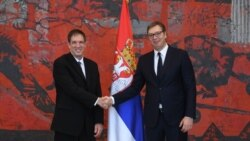 Novi ambasador Izraela u Srbiji i predsednik Srbije prilikom predaje akreditivnih pisama (izvor: predsednik.rs)