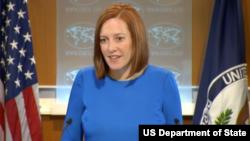 美国国务院发言人莎琪(图片来源:美国国务院)