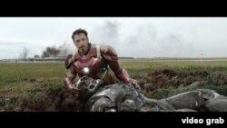 Scena iz filma Kapetan Amerika: Građanski rat
