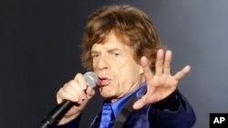 Mick Jagger y el resto de The Rolling Stones en un concierto en Pittsburgh, PA., 20-6-15.
