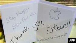 Миллионы людей прощаются с основателем Apple Стивом Джобсом