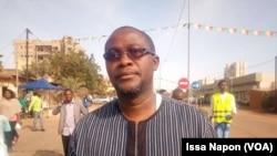 Maitre Ambroise Farama à Ouagadougou, le 12 janvier 2019. (VOA/Issa Napon)