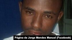 Jorge Mendes Manuel, jornalista da Rádio Despertar, Angola