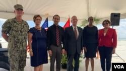 Joseph Mondello, embajador de EE.UU. en Trinidad y Tobago.