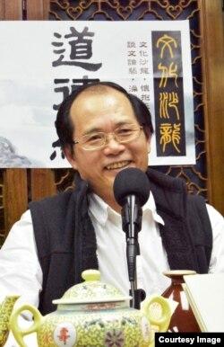 香港时评人、前特区政府官员及《香港城邦论》作者陈云 (陈云提供图片)