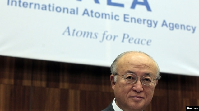 International Atomic Energy Agency (IAEA) Director General Yukiya Amano attends a board of governors meeting at the UN headquarters in Vienna, November 29, 2012.