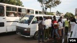 Transporte público, Maputo.