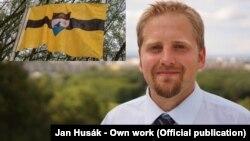 Vít Jedlička fundador da Liberlandia