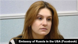 Maria Butina, mantan mata-mata Rusia
