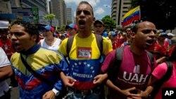 Los estudiantes quieren que los venezolanos puedan salir a la calle sin miedo a ser reprimidos.