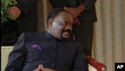 Jonas Savimbi, em Luanda (foto de arquivo)