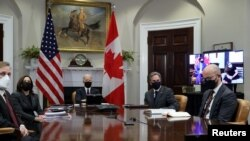 Biden - Trudeau talks