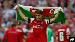 Arsenal အသင္းသား Aaron Ramsey