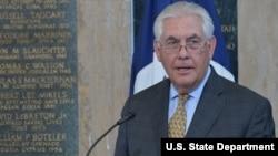 Menteri Luar Negeri AS,Rex Tillerson (foto: dok).