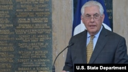 Menteri Luar Negeri AS Rex Tillerson (foto: dok).