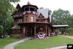 미국 코네티컷주 하트포드에 위치한 마크 트웨인의 생가.