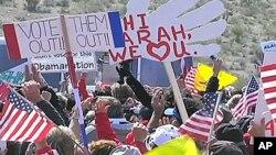 Skup pripadnika Pokreta Čajanke u Nevadi