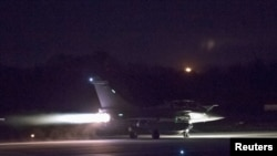 US, France and Britain Hit Syrian Chemical Facilities