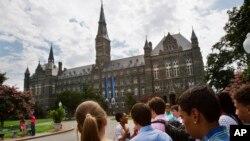 Kampus Univerziteta Džordžtaun u Vašingtonu (Foto: AP/Jacquelyn Martin)