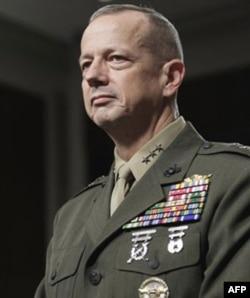 General Jon Allen, NATO va AQShning Afg'onistondagi harbiy missiyasi yetakchisi
