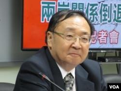 台灣文化大學政治系講座教授陳一新(2018年5月資料照片 美國之音張永泰拍攝)
