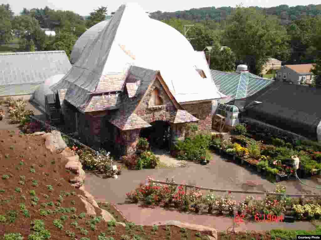 Vườn hoa tại Pennsylvania (Ảnh: Hiep Huynh)