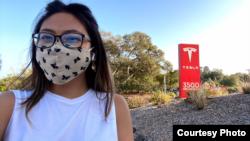 Moorissa Tjokro (26 tahun) Autopilot Software Engineer Tesla, di San Francisco, AS (dok: Moorissa)