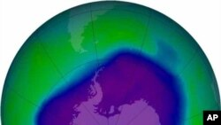 ОН: Рекордно губење на озонот над Арктикот
