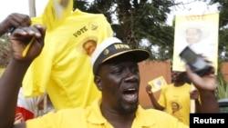 烏干達總統穆塞韋尼的支持者