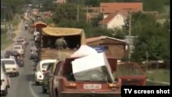 Arhiva - Prognani Srbi tokom akcije Oluja.
