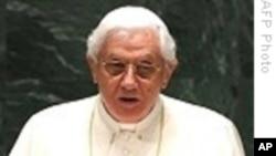 教皇抵达捷克访问