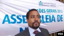 Manuel Araujo, presidente da comissão eleitoral do Namibe