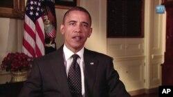 奥巴马星期六发表每周例行讲话