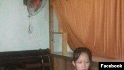Mẹ con chị Trần Thị Thanh Loan. (Ảnh: Facebook Võ An Đôn)