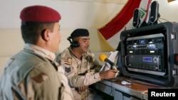 عکس تزئینی از یک ایستگاه رادیویی در عراق