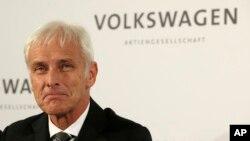 德國大眾汽車公司﹐新任首席執行官穆勒。