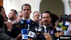 反對派領導人胡安·瓜伊多