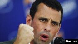 Henrique Capriles dijo que si es elegido presidente la corrupción en la justicia y las cárceles se va a acabar caiga quien caiga.